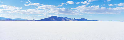 Great Salt Lake Photograph - Bonneville Salt Flats, Utah, Usa by Panoramic Images