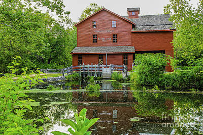 Photograph - Bonneyville Mill by Mary Carol Story