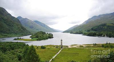 Scottish Highlands Photograph - Bonnie Prince Charlie by Denise Railey