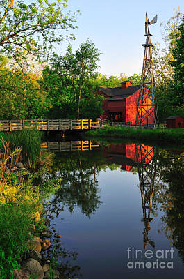 Photograph - Bonnyeville Mill by David Arment