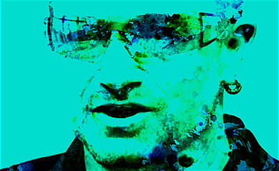Bono Digital Art - Bono by Brian Reaves