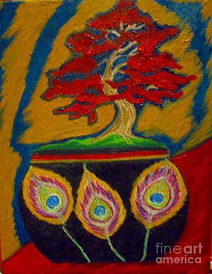 Painting - Bonsai by Lewanda Laboy