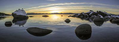 Bonsai Rock Photograph - Bonsai Rock Sunset by Brad Scott