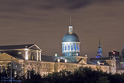 Bonsecours At Night Art Print
