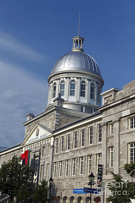 Que Photograph - Bonsecours Market Montreal by Jason O Watson