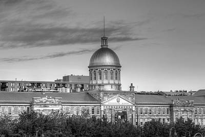 Heritage Montreal Photograph - Bonsecours Market  Montreal, Quebec by David Chapman