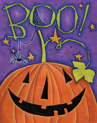Painting - Boo by Anne Tavoletti