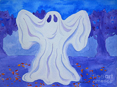Painting - Boo by E Cumbess
