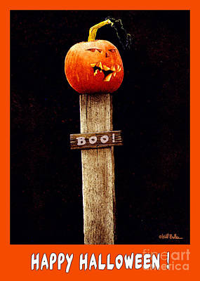 Painting - Boo... by Will Bullas