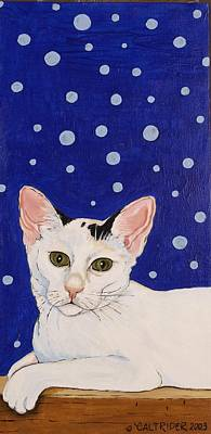 Art Print featuring the painting Booboo by Alison Caltrider