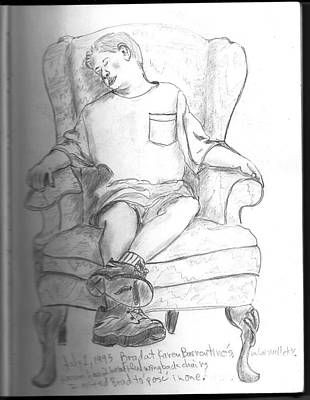 Drawing - Book 1-1995-1998 by Kevin Callahan