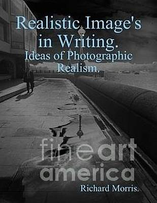 Photograph - Book Cover Design Realistic Images In Writing by Richard Morris