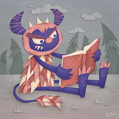 Book Art Print by David Fedan