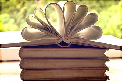 Book Flower Photograph - Book Flower by Georgia Fowler