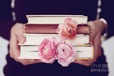 Book Love Print by Kim Fearheiley
