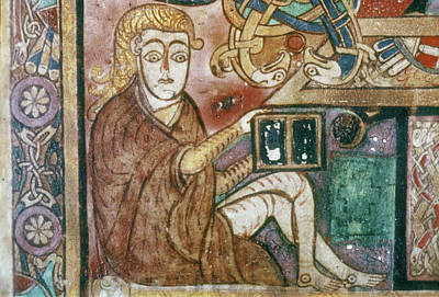 Painting - Book Of Kells (c800 by Granger