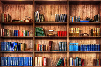 Book Shelf Art Print by Svetlana Sewell