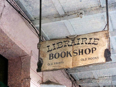 Photograph - Book Shop by Valerie Reeves