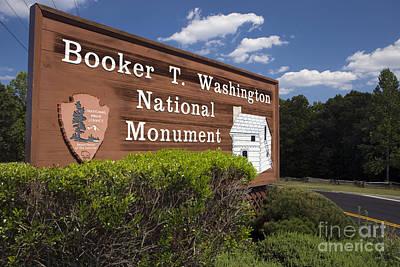 Booker T. Washington National Monument Art Print