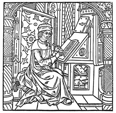 Scribe Painting - Bookkeeper, 1500 by Granger