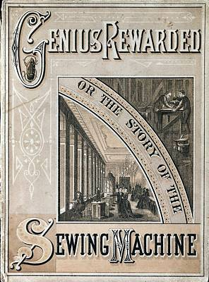Booklet On The Singer Sewing Machine Art Print by Universal History Archive/uig