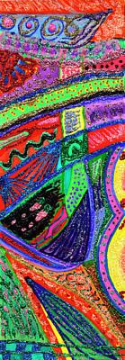 Painting - Bookmark by Strangefire Art       Scylla Liscombe