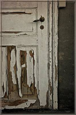 Old Door Photograph - Books And Their Covers by Odd Jeppesen