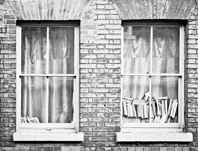 Books In The Window Art Print by Tom Gowanlock