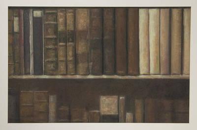 Bookshelf Art Print by Paez  Antonio
