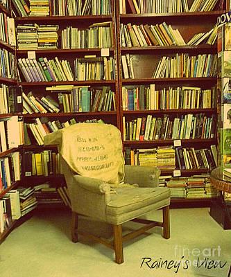 Bookstore Nook Art Print by Lorraine Heath