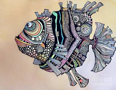 Boomer The Fish Art Print