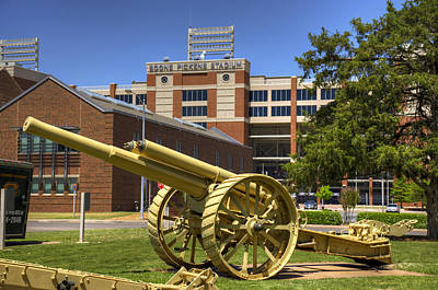 Oklahoma State University Photograph - Booming Campus by Ricky Barnard