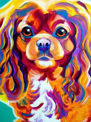 King Charles - Boonda Print by Alicia VanNoy Call