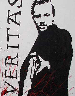 Painting - Boondock Saints Panel Two by Marisela Mungia