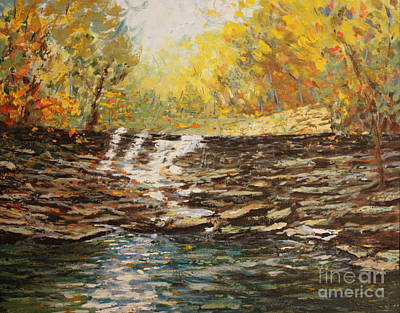 Painting - Boone County In Fall by Terri Maddin-Miller