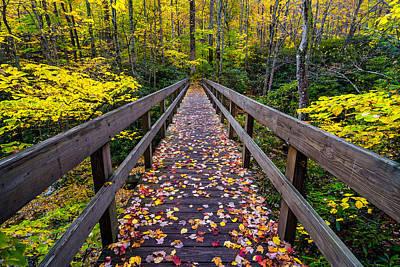 Photograph - Boone Fork Bridge  by Anthony Heflin