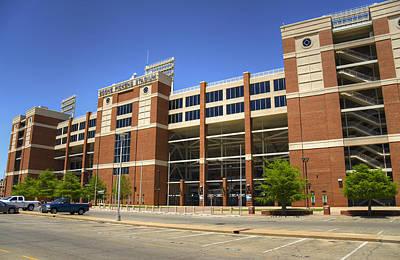 Oklahoma State University Photograph - Boone Pickens by Ricky Barnard