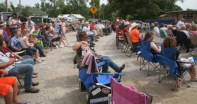 Photograph - Boonsboro Audience by Kathy Cornett