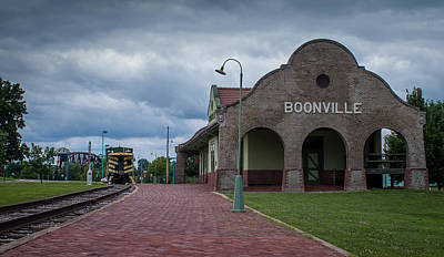 Photograph - Boonville Depot by Wayne Meyer