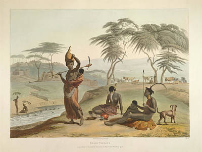 Boosh Wannah's Art Print by British Library