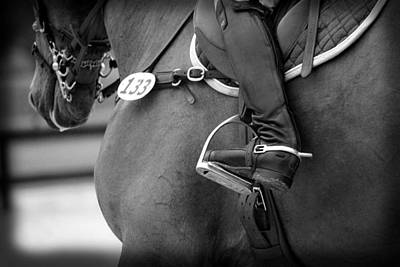 Photograph - Boot And Spur Monochrome by M Davis