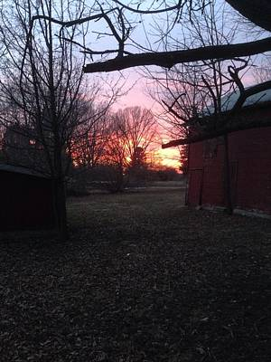Photograph - Booth Farm Sunset by Anthony Trillo