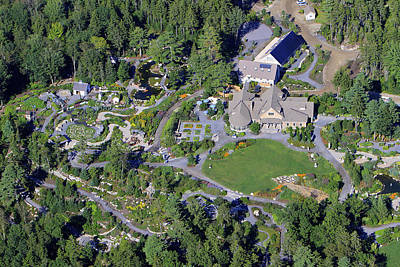 Americas Playground Photograph - Boothbay Coastal Botanical Gardens by Dave Cleaveland