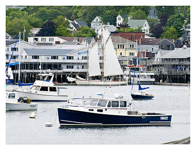 Photograph - Boothbay Harbor by Gene Norris