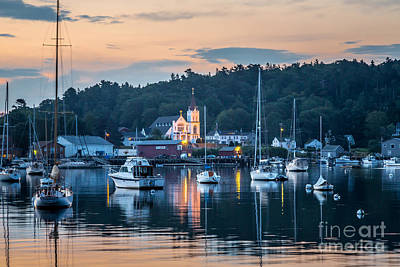 Photograph - Boothbay Harbor Morning by Susan Cole Kelly