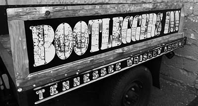 Tire Mixed Media - Bootleggers Inn Nashville Tennessee by Dan Sproul