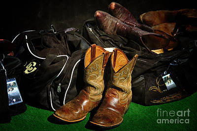 Nike Photograph - Boots And Bags by Bob Hislop