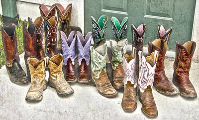 Photograph - Boots by Carol Erikson