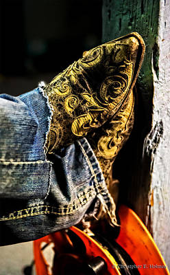 Photograph - Boots by Christopher Holmes