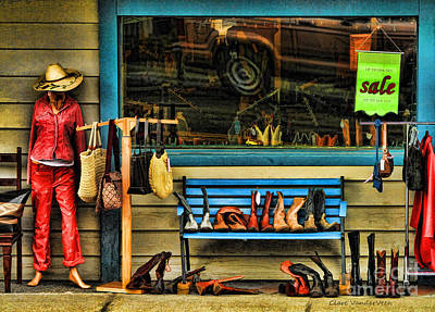 Western Purses Photograph - Boots For Sale by Clare VanderVeen